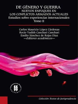 cover image of De género y guerra