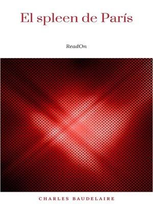 cover image of El spleen de París