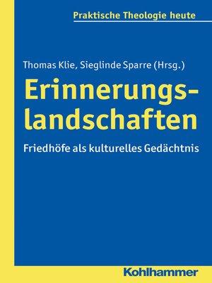 cover image of Erinnerungslandschaften