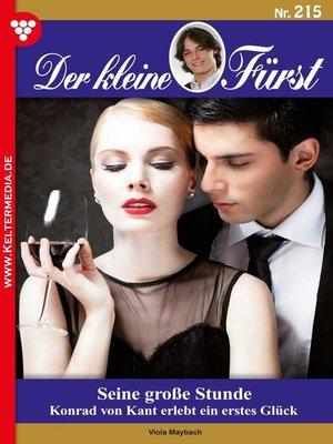 cover image of Der kleine Fürst 215 – Adelsroman