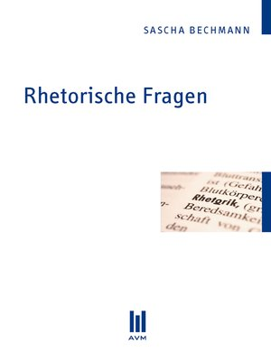 cover image of Rhetorische Fragen