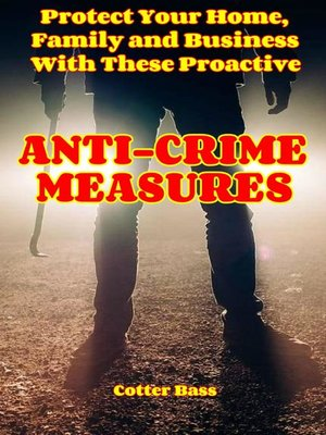 cover image of ANTI-CRIME MEASURES