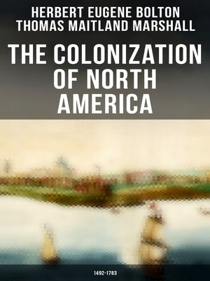 cover image of The Colonization of North America