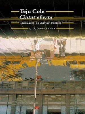cover image of Ciutat oberta