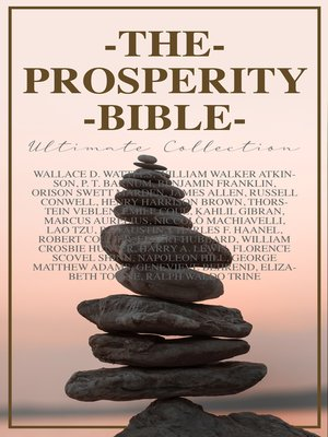 cover image of THE PROSPERITY BIBLE--Ultimate Collection