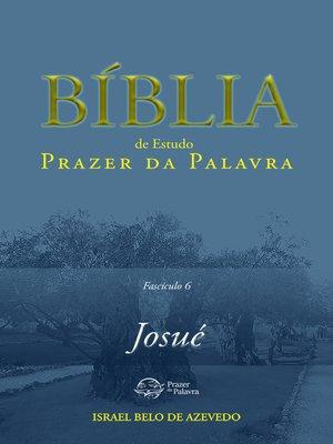 cover image of Bíblia de Estudo Prazer da Palavra, fascículo 6