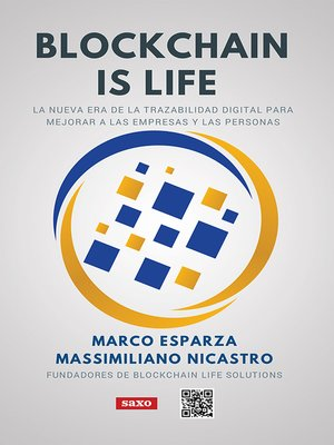 cover image of Blockchain is life