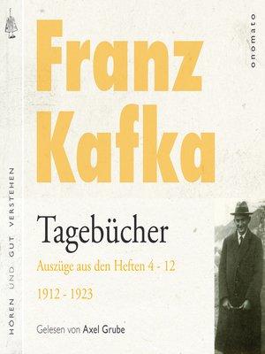 cover image of Franz Kafka − Tagebücher