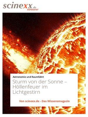 cover image of Sturm von der Sonne