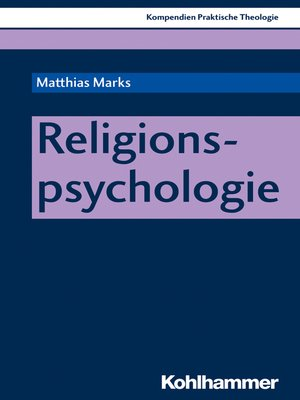 cover image of Religionspsychologie