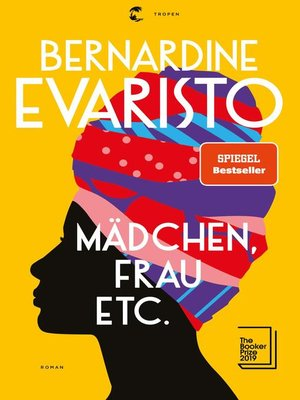 cover image of Mädchen, Frau etc.--Booker Prize 2019