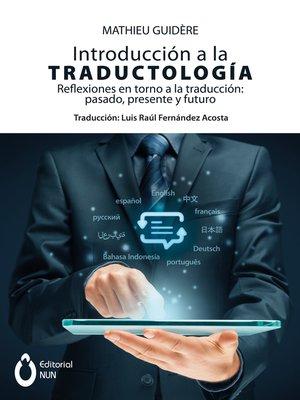 cover image of Introducción a la traductología
