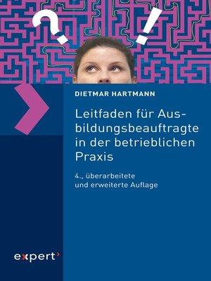 cover image of Leitfaden für Ausbildungsbeauftragte in der betrieblichen Praxis