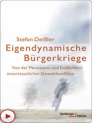 cover image of Eigendynamische Bürgerkriege