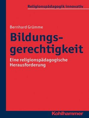 cover image of Bildungsgerechtigkeit