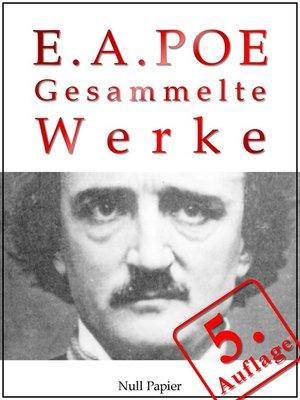 cover image of Edgar Allan Poe--Gesammelte Werke