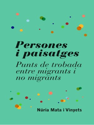 cover image of Persones i paisatges