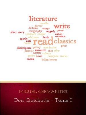cover image of L'Ingénieux Hidalgo Don Quichotte de la Manche--Tome I