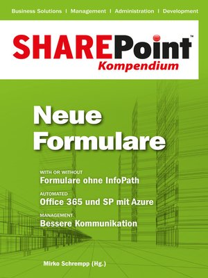 cover image of SharePoint Kompendium--Bd. 7