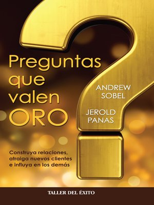 cover image of Preguntas que valen oro