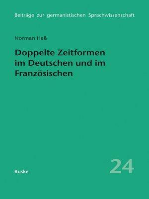 cover image of Doppelte Zeitformen im Deutschen und im Französischen