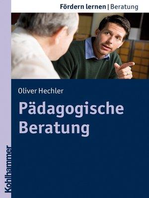 cover image of Pädagogische Beratung