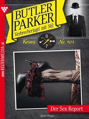 cover image of Butler Parker 101 – Kriminalroman