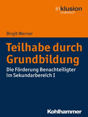 cover image of Teilhabe durch Grundbildung