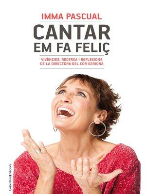 cover image of Cantar em fa feliç