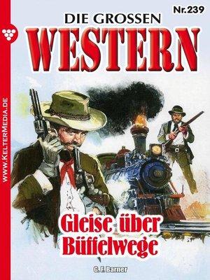 cover image of Die großen Western 239