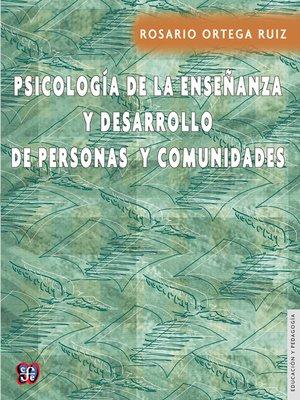 cover image of Psicología de la enseñanza y desarrollo de personas y comunidades