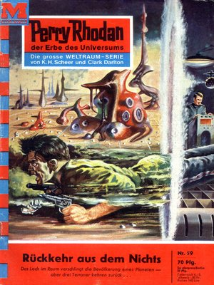 cover image of Perry Rhodan 59