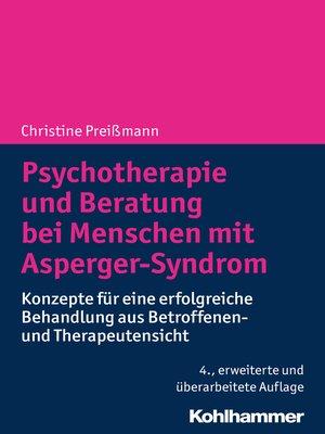 cover image of Psychotherapie und Beratung bei Menschen mit Asperger-Syndrom