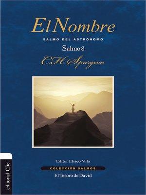 cover image of El nombre
