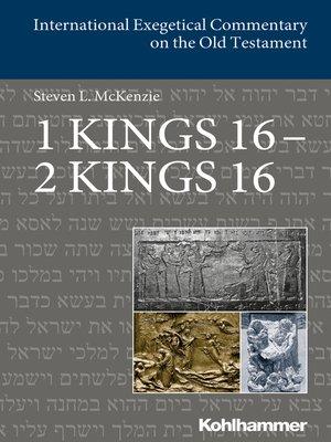 cover image of 1 Kings 16--2 Kings 16