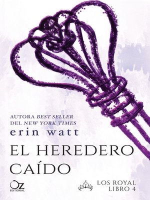 cover image of El heredero caído