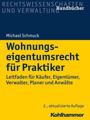 cover image of Wohnungseigentumsrecht für Praktiker