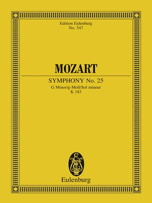 cover image of Symphony No. 25 G Minor