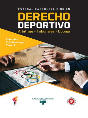 cover image of Derecho deportivo