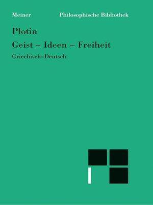 cover image of Geist--Ideen--Freiheit