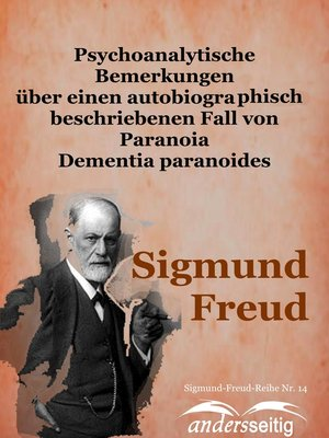 cover image of Psychoanalytische Bemerkungen über einen autobiographisch beschriebenen Fall von Paranoia Dementia paranoides