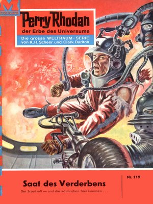 cover image of Perry Rhodan 119