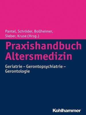 cover image of Praxishandbuch Altersmedizin