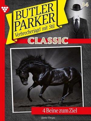 cover image of Butler Parker Classic 34 – Kriminalroman