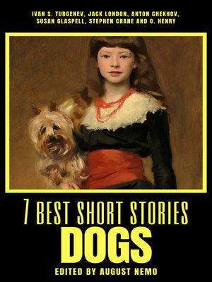 cover image of 7 best short stories--Dogs