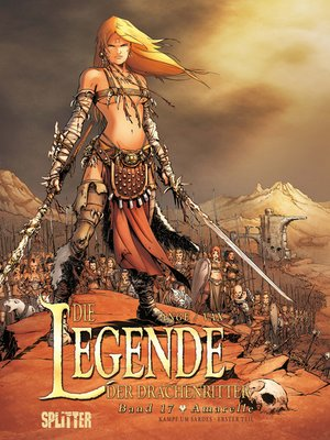 cover image of Die Legende der Drachenritter. Band 17