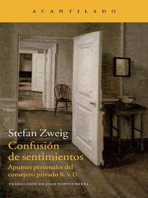 cover image of Confusión de sentimientos