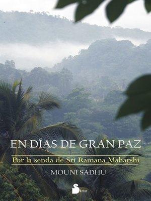 cover image of En días de gran paz