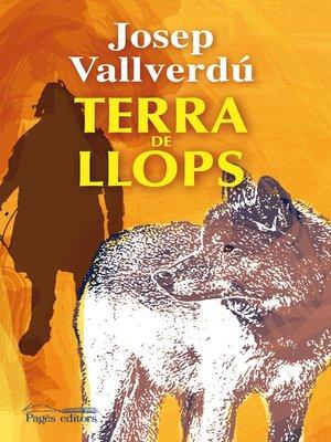 cover image of Terra de llops