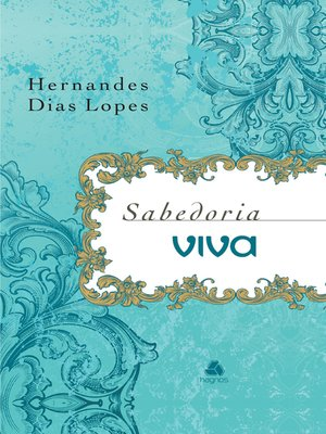 cover image of Sabedoria viva